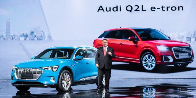 Audi Q2 L e-tron ile ilgili görsel sonucu