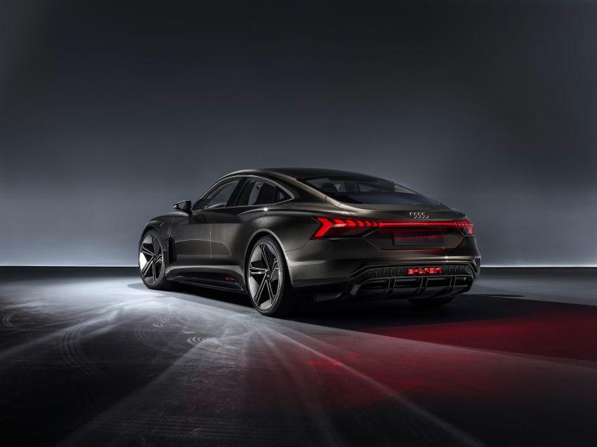 Audi e-tron GT concept debuts at Los Angeles Auto Show – 582 hp EV, production version due by end 2020 Image #895967
