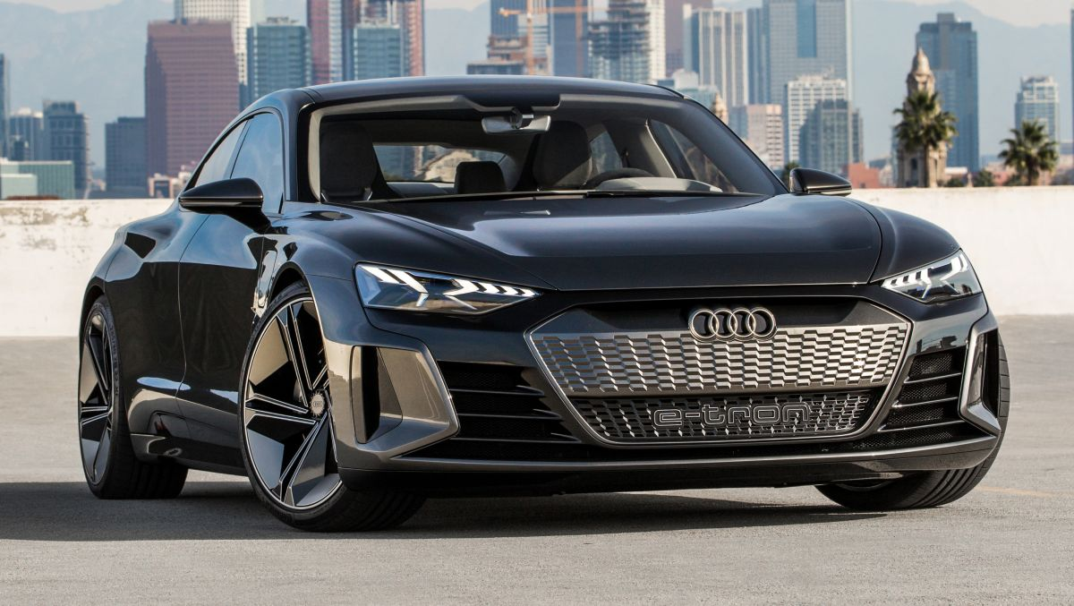 audi e tron gt concept to star in avengers 4 movie. Black Bedroom Furniture Sets. Home Design Ideas