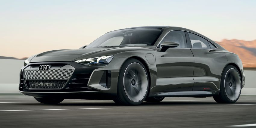 Audi e-tron GT concept debuts at Los Angeles Auto Show – 582 hp EV, production version due by end 2020 Image #895959