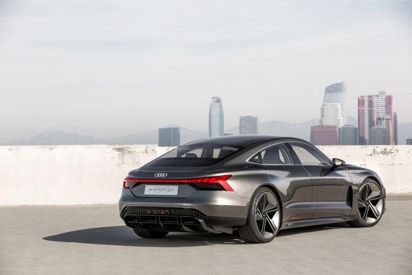 Audi e-tron GT concept debuts at Los Angeles Auto Show – 582 hp EV, production version due by end 2020 Image #895995