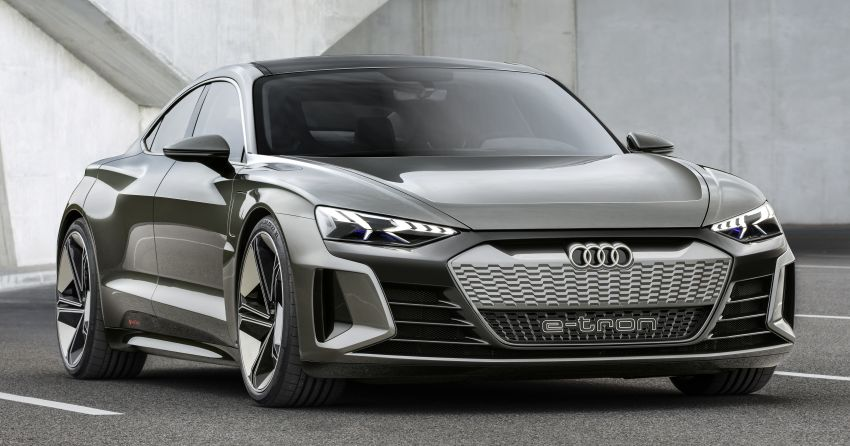 Audi e-tron GT concept debuts at Los Angeles Auto Show – 582 hp EV, production version due by end 2020 Image #895996