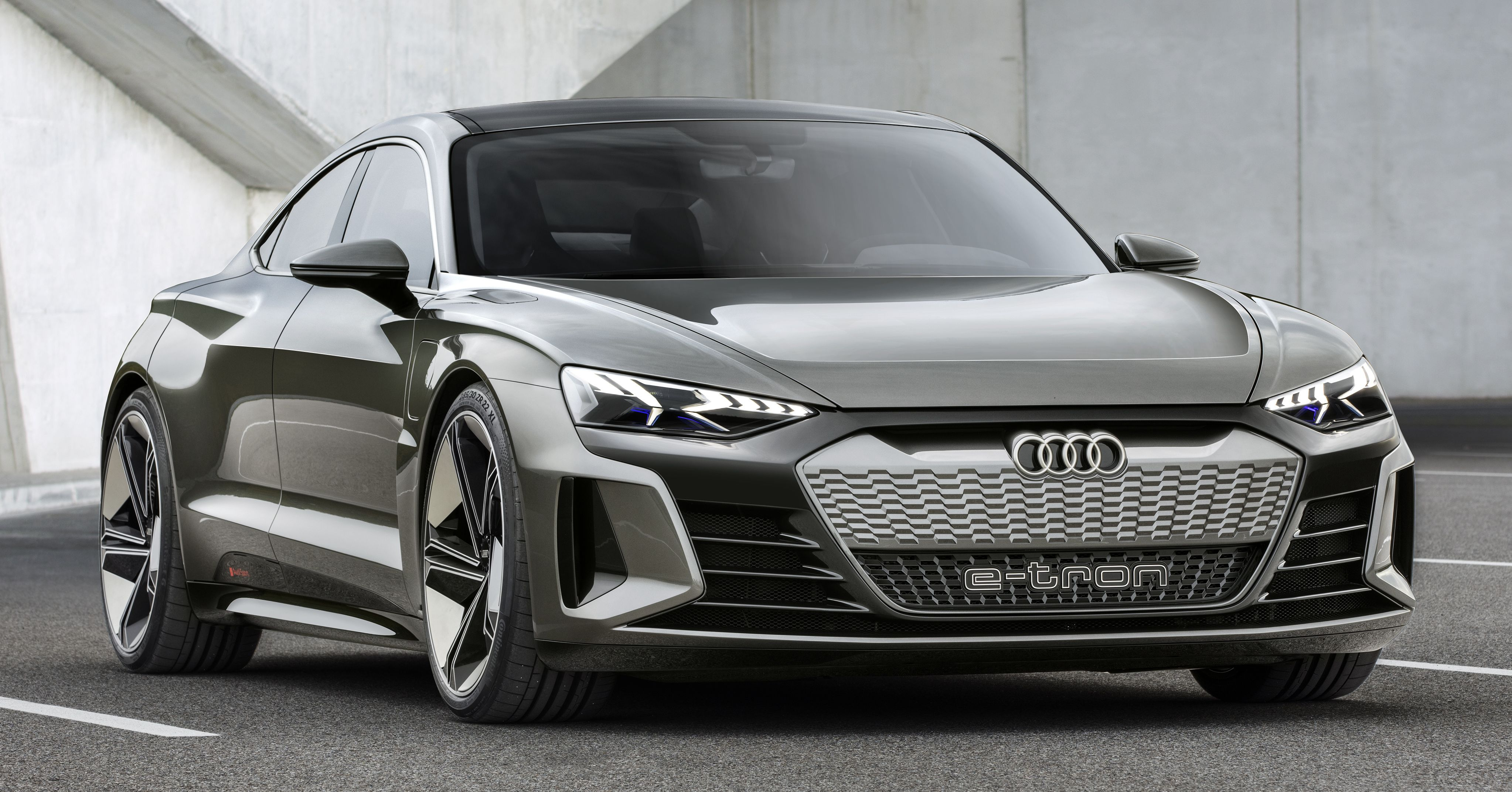 Audi Sport To Enter Ev Field With Rs Branded E Tron Gt Paultan Org