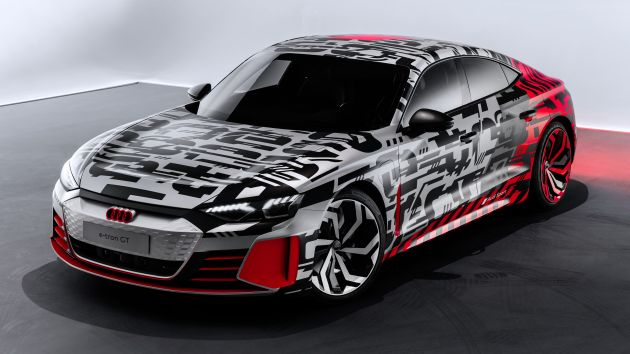 Audi E Tron Gt Concept Revealed Before Official Debut