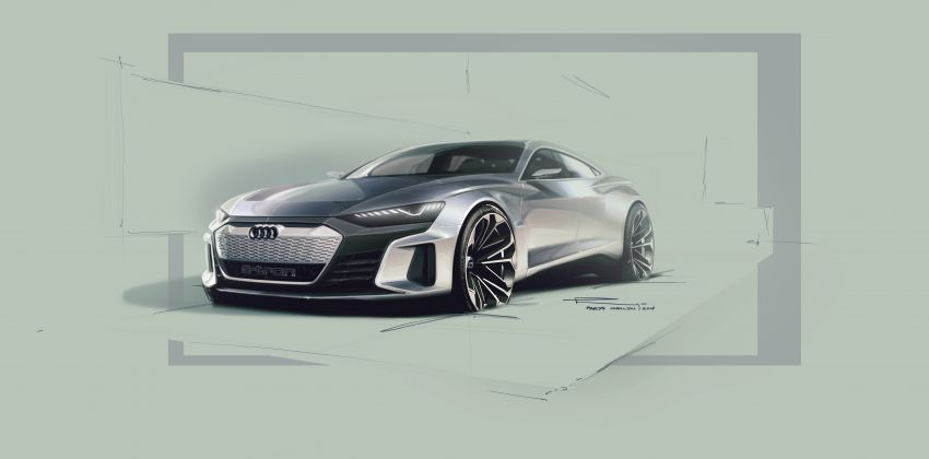 Audi e-tron GT concept debuts at Los Angeles Auto Show – 582 hp EV, production version due by end 2020 Image #896026