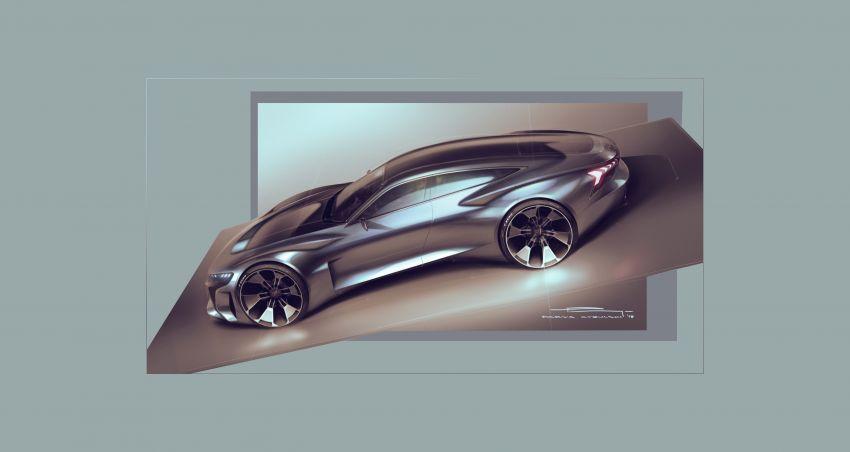 Audi e-tron GT concept debuts at Los Angeles Auto Show – 582 hp EV, production version due by end 2020 Image #896027