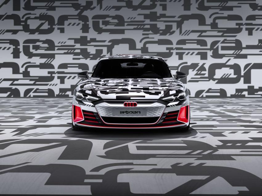 Audi e-tron GT concept debuts at Los Angeles Auto Show – 582 hp EV, production version due by end 2020 Image #896034