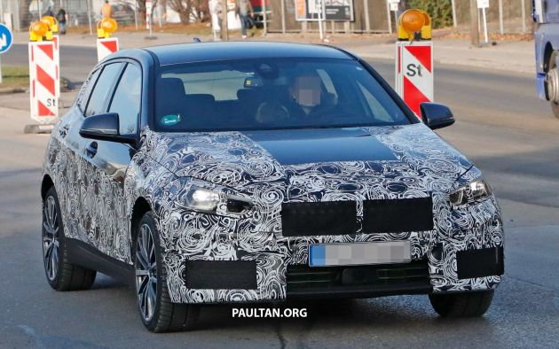 Spyshots Bmw 1 Series Drops Some Camouflage