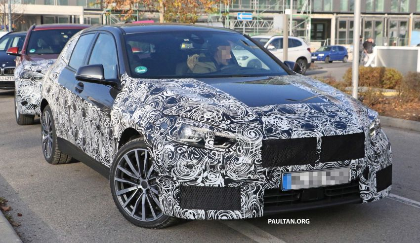 SPYSHOTS: BMW 1 Series drops some camouflage Image #895673