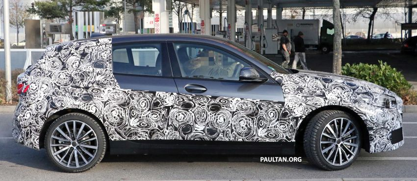 SPYSHOTS: BMW 1 Series drops some camouflage Image #895674