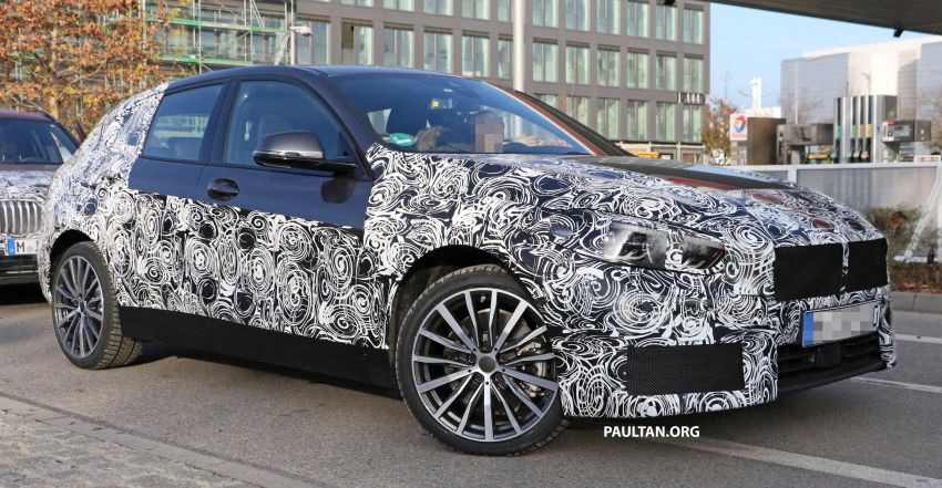 SPYSHOTS: BMW 1 Series drops some camouflage Image #895675