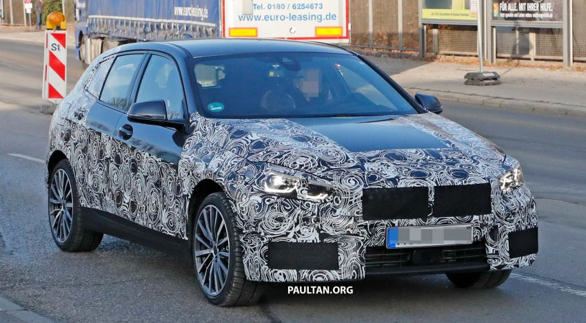 SPYSHOTS: BMW 1 Series drops some camouflage Image #895663
