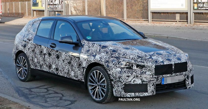 SPYSHOTS: BMW 1 Series drops some camouflage Image #895664