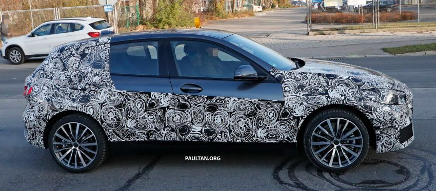 SPYSHOTS: BMW 1 Series drops some camouflage Image #895667