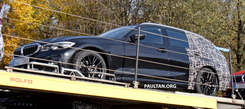 SPYSHOTS: G21 BMW 3 Series Touring with less camo Image #885133