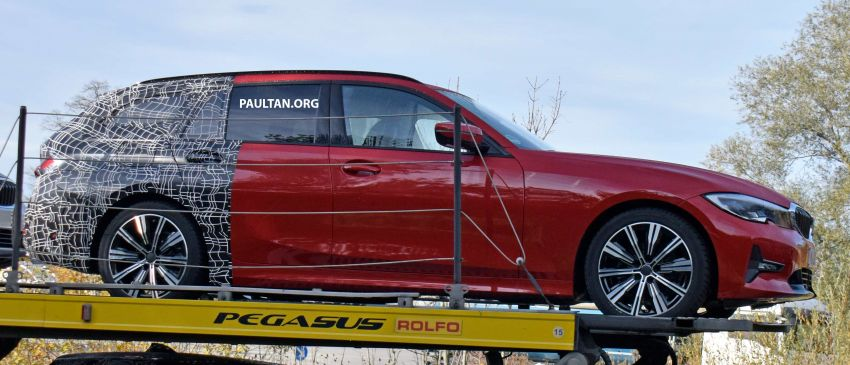 SPYSHOTS: G21 BMW 3 Series Touring with less camo Image #885143