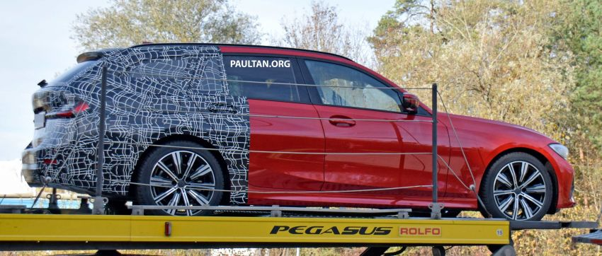 SPYSHOTS: G21 BMW 3 Series Touring with less camo Image #885144