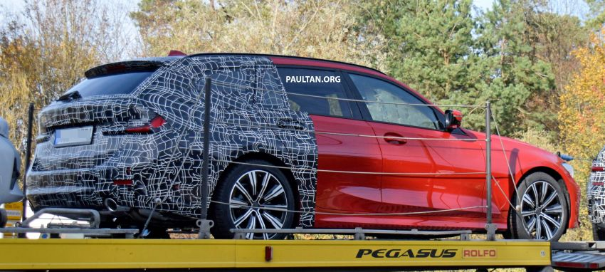 SPYSHOTS: G21 BMW 3 Series Touring with less camo Image #885146