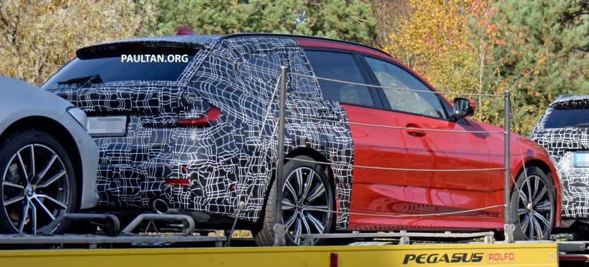 SPYSHOTS: G21 BMW 3 Series Touring with less camo Image #885148