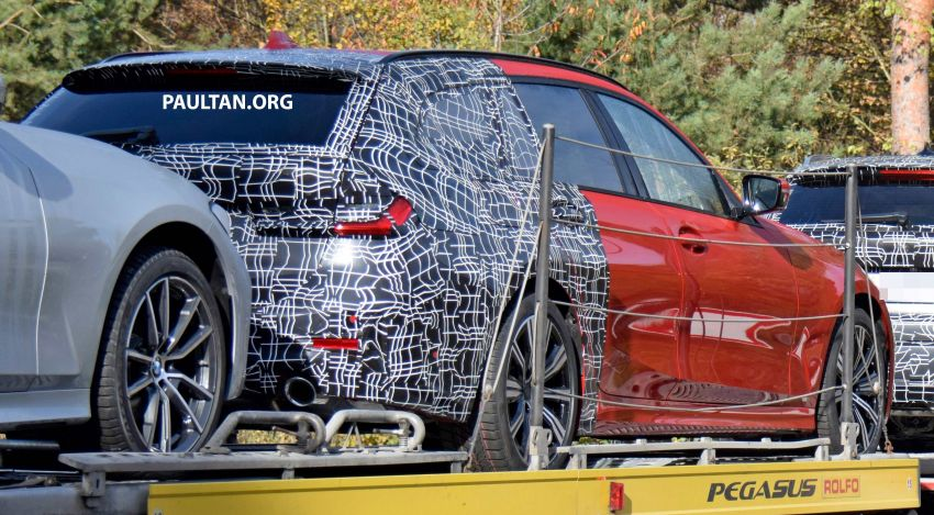 SPYSHOTS: G21 BMW 3 Series Touring with less camo Image #885150