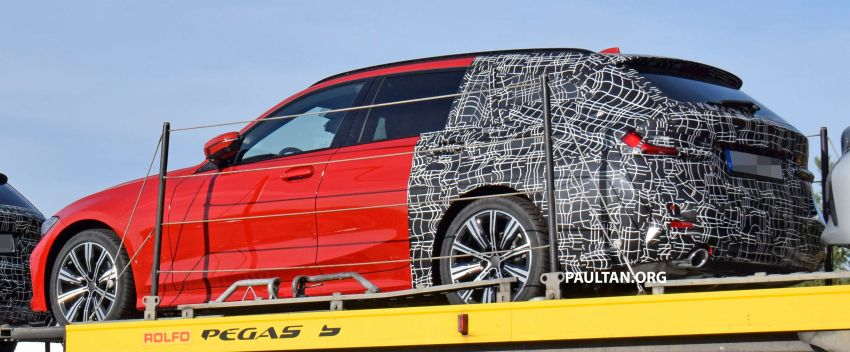 SPYSHOTS: G21 BMW 3 Series Touring with less camo Image #885151