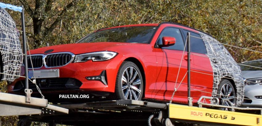SPYSHOTS: G21 BMW 3 Series Touring with less camo Image #885134