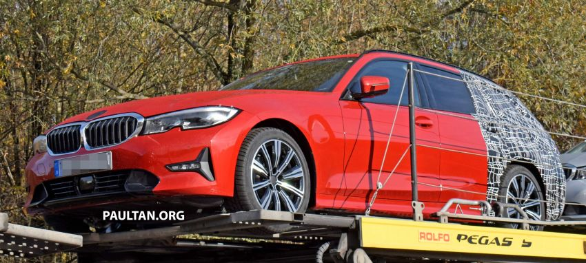 SPYSHOTS: G21 BMW 3 Series Touring with less camo Image #885135