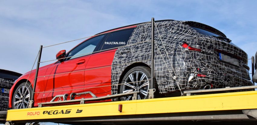 SPYSHOTS: G21 BMW 3 Series Touring with less camo Image #885138
