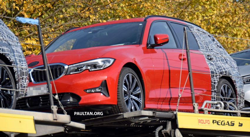 SPYSHOTS: G21 BMW 3 Series Touring with less camo Image #885139