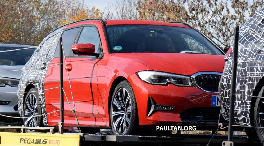 SPYSHOTS: G21 BMW 3 Series Touring with less camo Image #885140