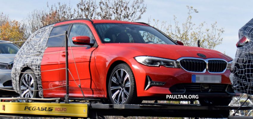 SPYSHOTS: G21 BMW 3 Series Touring with less camo Image #885142