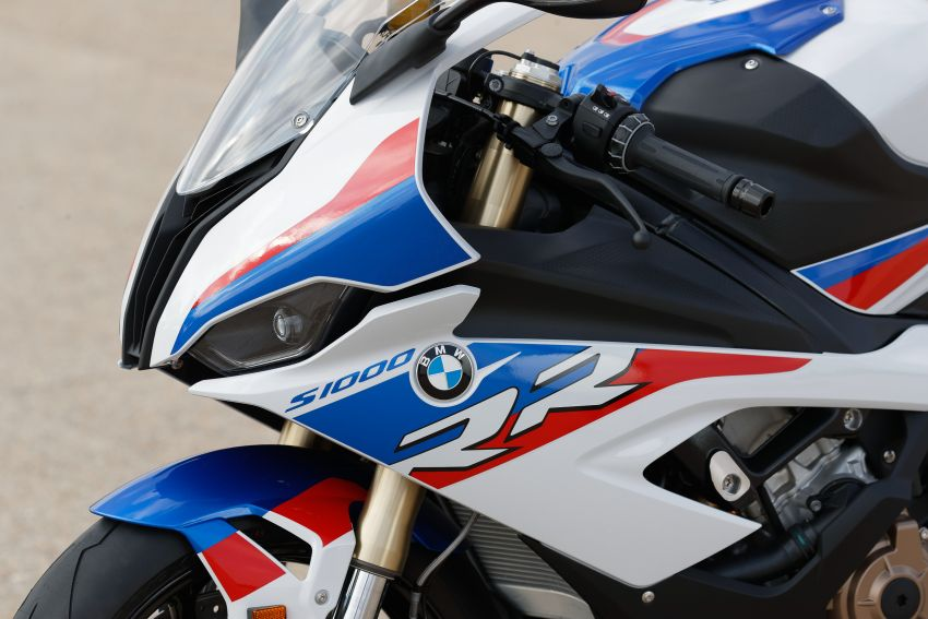 2018 EICMA: 2019 BMW Motorrad S 1000 RR shown Image #884892