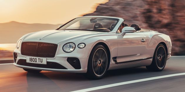 New Bentley Continental Gt Convertible Revealed 626 Hp 0 100 Km H