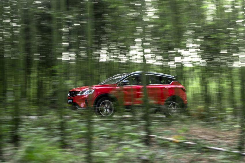 Geely Binyue – SUV segmen-B dengan pilihan enjin turbo 1.5L & 1.0L, dilengkapi sistem autonomi tahap 2 Image #885862