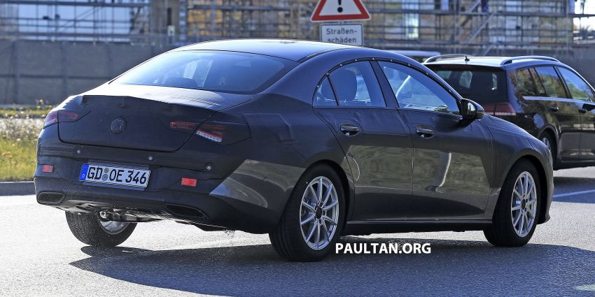 SPIED: C118 Mercedes-Benz CLA almost without camo Image #887493