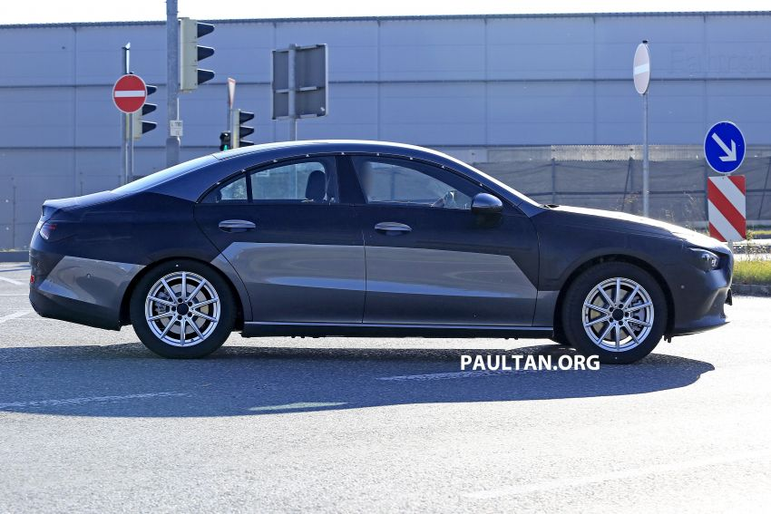 SPIED: C118 Mercedes-Benz CLA almost without camo Image #887490
