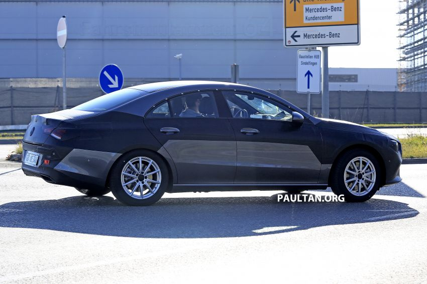 SPIED: C118 Mercedes-Benz CLA almost without camo Image #887491