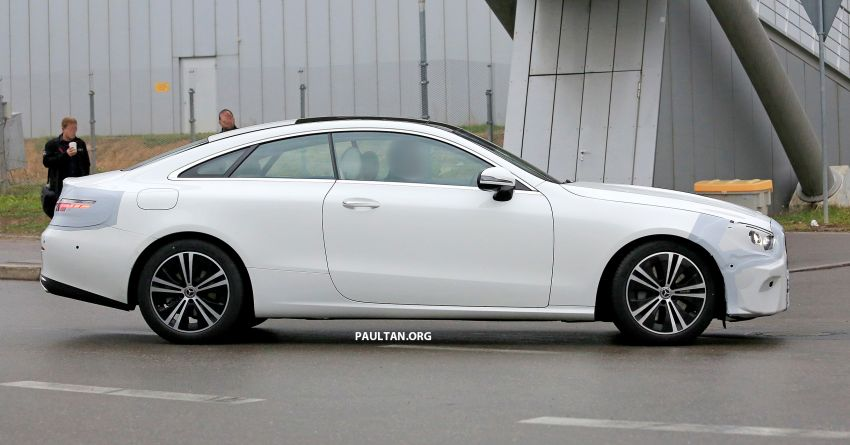 SPIED: C238 Mercedes-Benz E-Class Coupe facelift spotted – A-Class inspired face, new OLED tail lights Image #897014