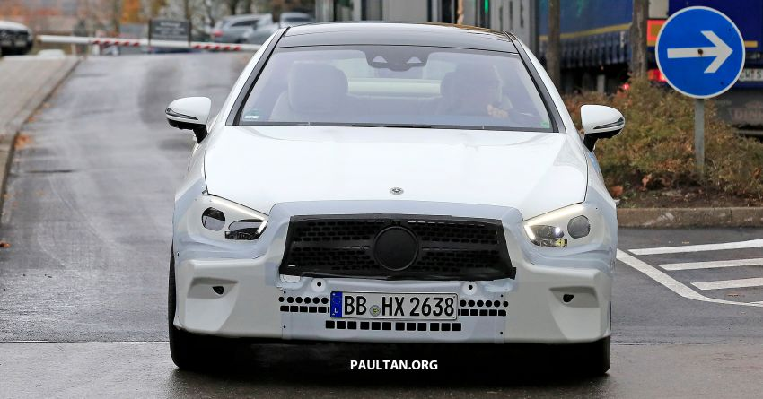 SPIED: C238 Mercedes-Benz E-Class Coupe facelift spotted – A-Class inspired face, new OLED tail lights Image #897001