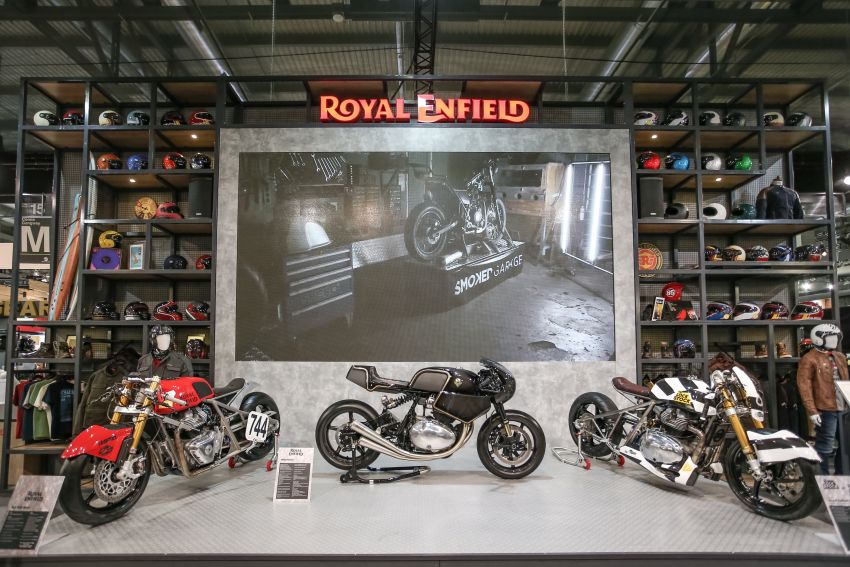 2018 EICMA: Royal Enfield shows KX Concept bike Image #886210