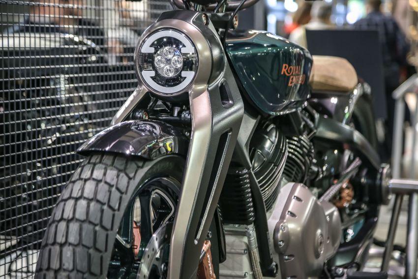 2018 EICMA: Royal Enfield shows KX Concept bike Image #886219