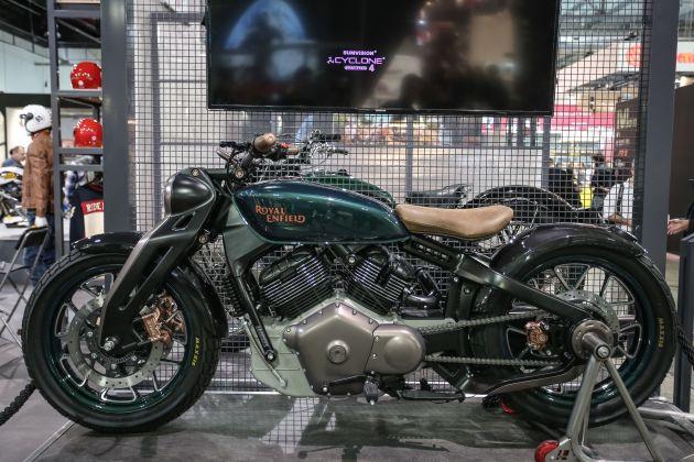 2018 Eicma Royal Enfield Shows Kx Concept Bike