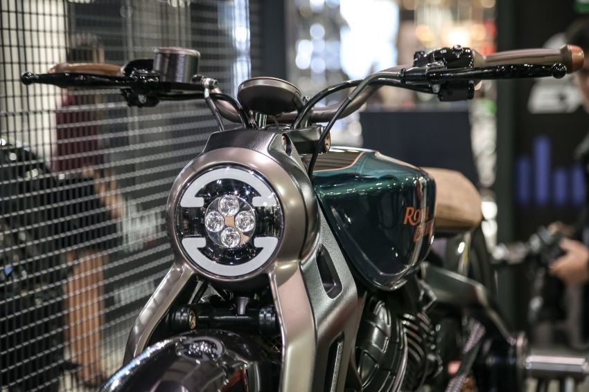 2018 EICMA: Royal Enfield shows KX Concept bike Image #886212