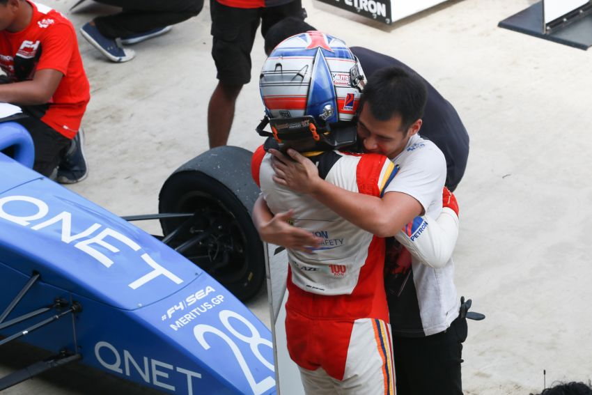 Formula 4 SEA fuelled by Petron, Rd 19-21 –  Ghiretti wins three out of three at Sepang International Circuit Image #894282