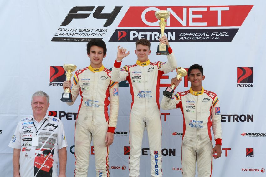 Formula 4 SEA fuelled by Petron, Rd 19-21 –  Ghiretti wins three out of three at Sepang International Circuit Image #894284