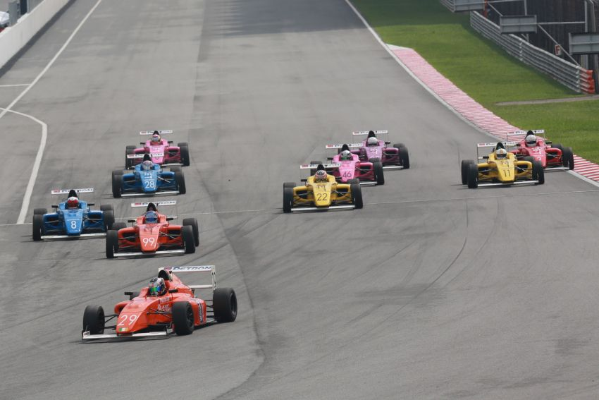 Formula 4 SEA fuelled by Petron, Rd 19-21 –  Ghiretti wins three out of three at Sepang International Circuit Image #894488