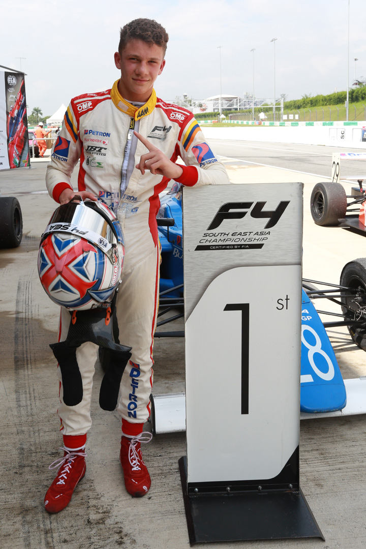 Formula 4 SEA fuelled by Petron, Rd 19-21 –  Ghiretti wins three out of three at Sepang International Circuit Image #894501
