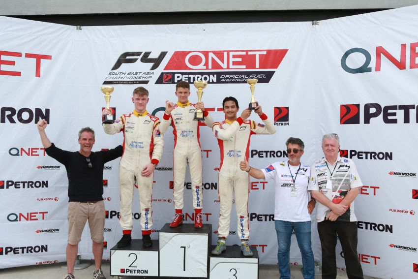 Formula 4 SEA fuelled by Petron, Rd 19-21 –  Ghiretti wins three out of three at Sepang International Circuit Image #894503