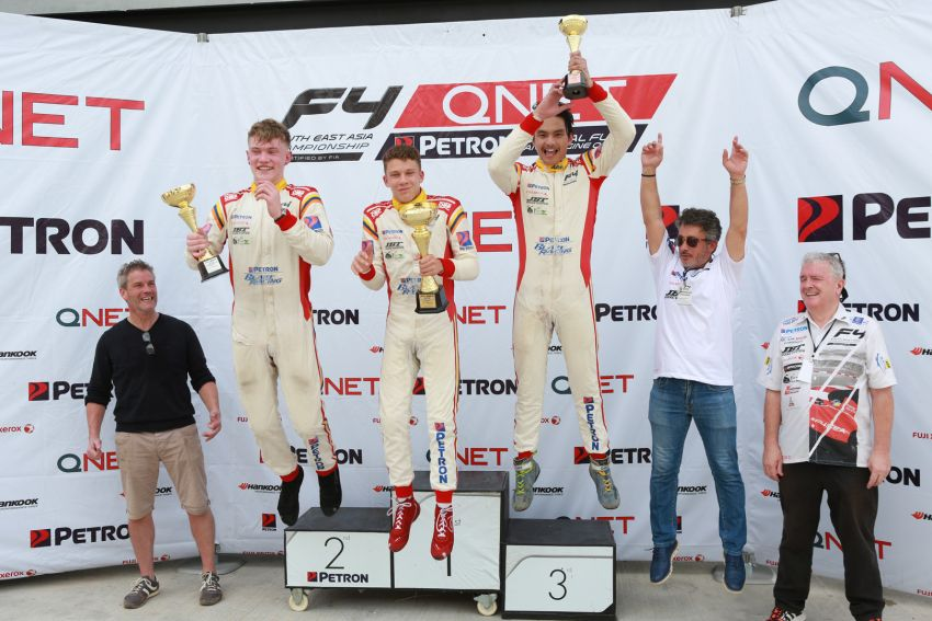 Formula 4 SEA fuelled by Petron, Rd 19-21 –  Ghiretti wins three out of three at Sepang International Circuit Image #894504