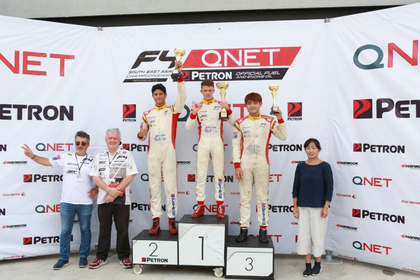 Formula 4 SEA fuelled by Petron, Rd 19-21 –  Ghiretti wins three out of three at Sepang International Circuit Image #894506